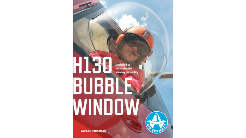 H130 Bubble Window