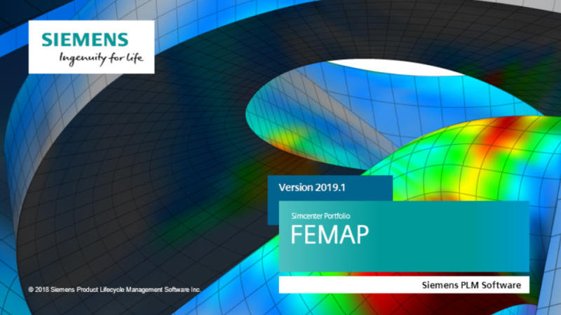 Live Webinar - What's New in Simcenter FEMAP V2019.1