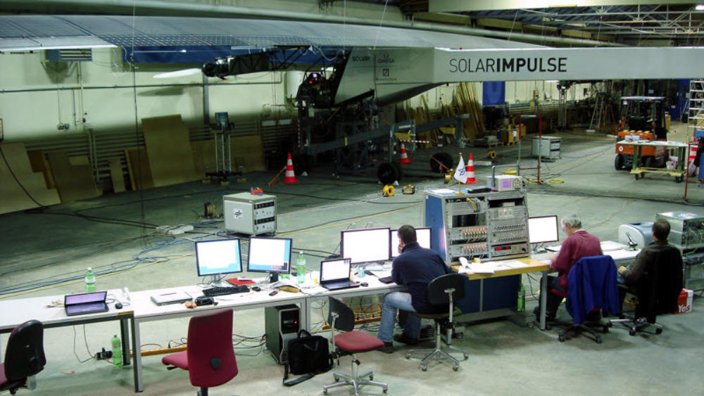 GVT Test Solar Impulse DLR