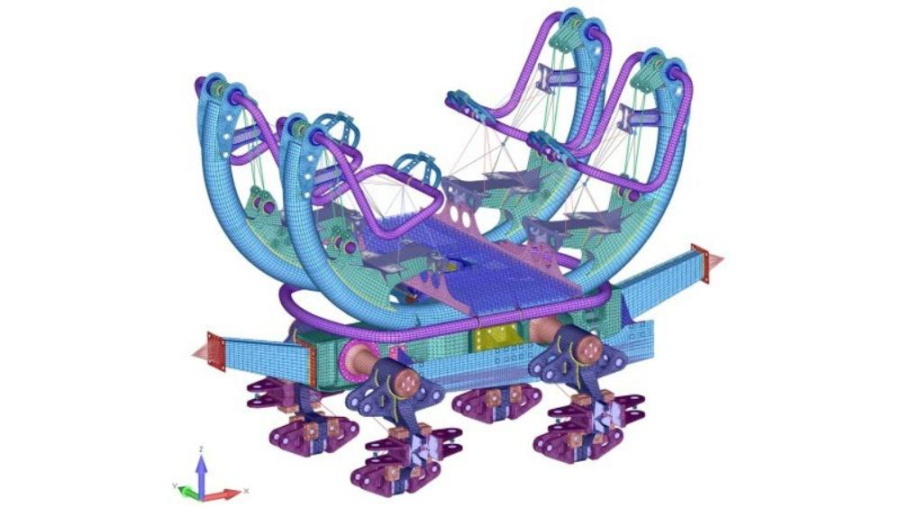 Intamin Spinning Coaster 2